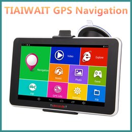 Discount Car Gps Europe Maps Tiaiwait Car Gps Navigator  Inch Navigation  Hd