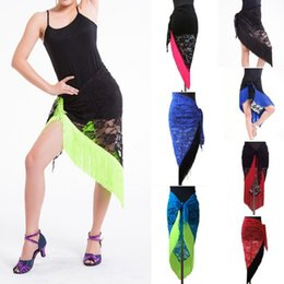 Wholesale New Belly Dance Costume Tribal Tassels Lace Triangle Hip Scarf wrap Belt color