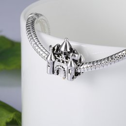 discount castle silver charm | 2017 sterling silver castle charm