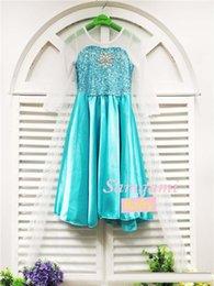 Wholesale Robe de soirée de la princesse Anna Elsa robe de princesse robe de tulle