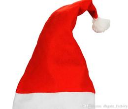 Симпатичные Дети Дети Взрослые X Mas Party Косплей шляпы Рождество Cap Толстые Ультра мягкий плюш Санта-Клауса рождественские отдыха Hat Factory цена