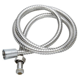 new arrvial 2m flexible stainless steel pipe chrome shower head bathroom heater water hose cheap hose plastic