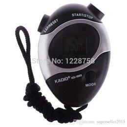 ASDOMO Chronographe à l'eau Deuxième chronomètre chronomètre Compteur sportif Odomètre numérique T1233 W0.5