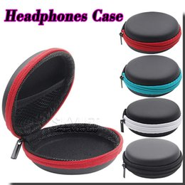 Wholesale High Quality Earphone Storage Carrying Bag Earpphone Earbud Case Cover For USB Cable Key Coin Mini Zipper Case Without Package