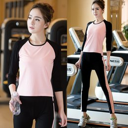 Wholesale New Arrival Yoga Clothes Sets For Women Casual Sports Suit Running Fitness Clothing Autumn Winter Sportwear KK330