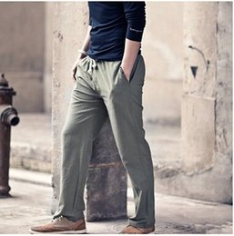 Discount Mens Grey Linen Pants | 2017 Mens Grey Linen Pants on ...