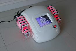 Wholesale belleza fuentes del salón lipoláser diodo delgado superior de la venta pastillas de láser clínica de uso de la máquina para adelgazar