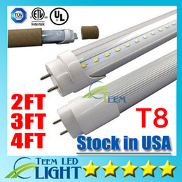 Stock in USA 4ft 22W 3ft 18W 2ft 11W T8 Led Tube Light 2400lm Led lighting Fluorescent Tube Lamp 1.2m LED tubes