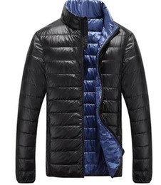 Down Feather Jacket Men - Coat Nj