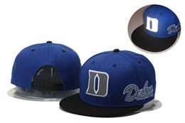 Duke Blue Devils Basketball Caps, Snapback College Football Chapeaux, Adjustable Cap, 2016 Nouveau Style Cheap Duke Hat, En gros, Livraison gratuite