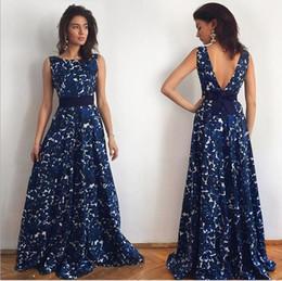 Discount Rose Print Prom Dress   2017 Rose Print Prom Dress on ...