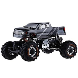 wholesale metal chassis rc car 4wd 124 hbx 2098b 4 wheel drive radio control car 24g metal structure absorption best gift for kids best rc cars for kids