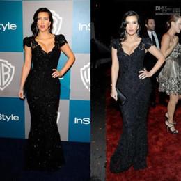 Wholesale During evening dress dress custom good design new style Kim kardashian celebrity sexy black bud silk dress