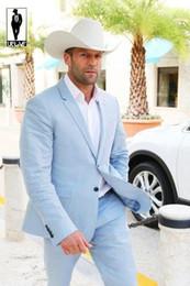Discount Tailor Made Sky Blue Suit | 2017 Tailor Made Sky Blue ...