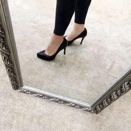 Wholesale Chaussures habillées tricot talon haut d usure hauteur cm imperméable cm concision mais pas simple fasion et de luxe quatre couleurs à choisir la taille