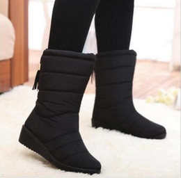 Discount Cotton Snow Rain Boots | 2017 Cotton Snow Rain Boots on ...