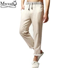 Discount Khaki Linen Pants For Men   2017 Khaki Linen Pants For ...