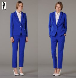 Discount Ladies Royal Blue Suits | 2017 Ladies Royal Blue Suits on ...