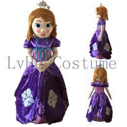 Wholesale Hot sale new design adult mascot costume princess Sofia adult Sofia the first mascot costume S0001