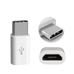 USB 3.1 Tipo C Adaptadores macho a Micro Female Tamaño Autocatalytic Plating ABS Material Fast Data Sync