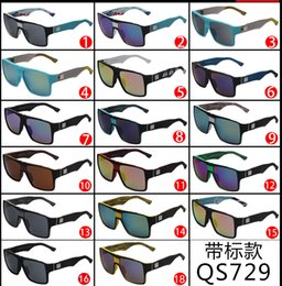 cheap wholesale sunglasses 9udj  2016 Sunglasses Driving Cycling Sports Brands Colorful Brand Fashion  Designer For Men Women Cheap sun glasses QS729 BY DHL