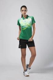 высокое качество jerseyBadminton одежды бадминтон одежды 2016 году синий белый зеленый оранжевый футболки и шорты высокого качества