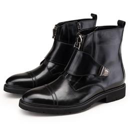 Discount Men Winter Boot Leather Zipper | 2017 Men Winter Boot ...