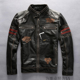 Vintage Leather Flight Jacket | Outdoor Jacket