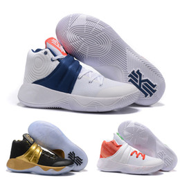 online shopping latest kyrie irving shoes Kyrie Men s Basketball Shoe Zoom Air lighter air cushioning sneaker White Blue red US7 US12