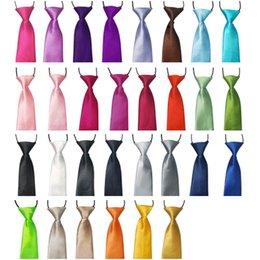 Wholesale Best Match Colorful Baby Kids Children s Elastic Ties Tie Necktie Neck Tie For School Party Wedding Fx21
