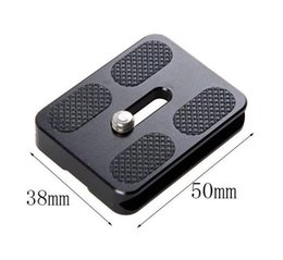 Discount universal adapter plate Camera Universal Tripod Quick Release Plate Screw Adapter Tripod Head For DSLR Camera