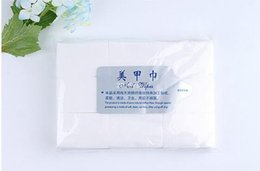 Wholesale 2016 New pack Nail Art Polish Acrylic Gel Remover Pad Nail Wipes Necessities Nail Cleanning Wipes