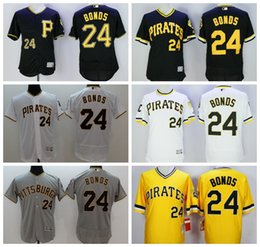 pittsburgh pirates flexbase jerseys baseball 24 barry bonds jersey 1986 cooperstown stitched cool base pullover yellow