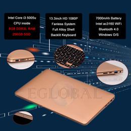2017 laptop Cheap Ultraslim Netbook Broadwell Core i3 5005u 8GB RAM 256GB SSD Mini Laptop Computer AC3160 Double WiFi BT4.0 USB3.0 LAN