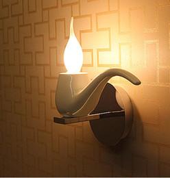 5w Led Modern Candle Bulb Wall Light Sconce For Restaurant Salon Coffee Shop Bathroom Mirror Light Kids Bedroom Wall Lamp Luz