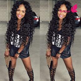 Awesome Discount Cheap Deep Wave Virgin Half Wigs 2017 Cheap Deep Wave Short Hairstyles For Black Women Fulllsitofus