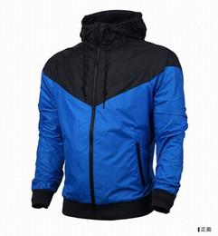 Wholesale 2016 venta del envío de los hombres de la chaqueta con capucha hombre nuevo otoño del resorte de las mujeres ropa deportiva rompevientos Coats sudadera chándal vgfbgfh