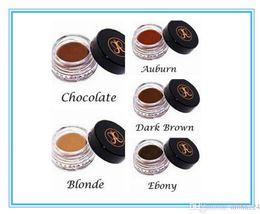 Wholesale 24 hours shipping Anastasia Dipbrow Pomade Beverly Hills Blonde Auburn Chocolate Dark Brown Ebony Waterproof Eyebrow g Oz Full Size NEW