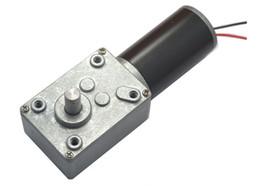 Discount high torque worm gear DC12V Worm Geared Motor, Worm gear,dc motor turbine worm reducer, Rated speed 16~470 RPM, High Torque