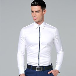 Discount Korean White Shirt Style Man | 2017 Korean White Shirt ...