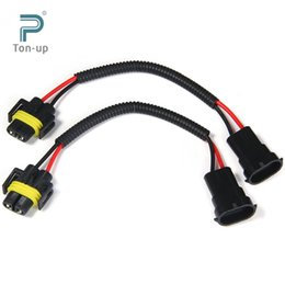 discount led lamp connector wiring harness plug 2016 led lamp 2016 led lamp connector wiring harness plug 2pcs h8 h9 h11 extension adapter wiring harness socket