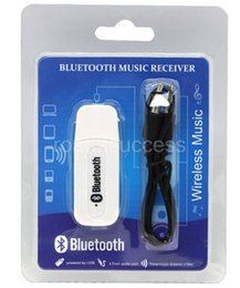 online shopping Double Output USB Wireless Bluetooth mm Music Audio Car Handsfree Receiver Adapter USB Dongle mm Stereo Music Receiver for Speakers