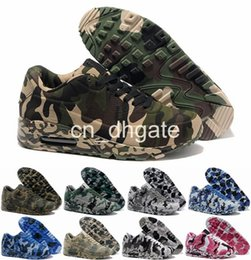 Discount Shoes Run Air Max New Max 90 VT Running Shoes For Men & Women Camouflage Max 90 Camo Sports Shoes Trainers Outdoor Athletic Size 36-46 Air Free Shipping