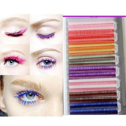 Colored Eyelash Extensions Online | Colored Eyelash Extensions ...