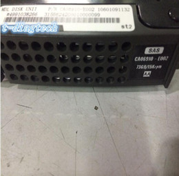 online shopping Free ship Server hard disk drive CA06910 E002 GB K SAS quot HDD used and pull in good condition