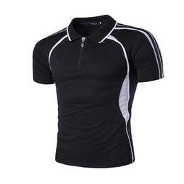 Wholesale summer new stretch cotton short sleeve brand sports polo men shirt clothing hot sell couple slim shirts plus sizeM XXL
