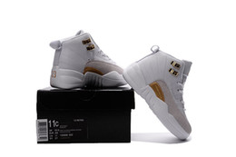 2016 Retro XII French Boys And Girls OVO Kids Basketball Shoes Girl Boy s High Quality Sport Shoes Youth Basketball Sneakers online