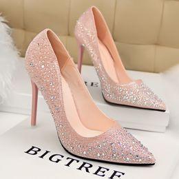 Discount Hot Pink High Heels Diamonds | 2017 Hot Pink High Heels ...