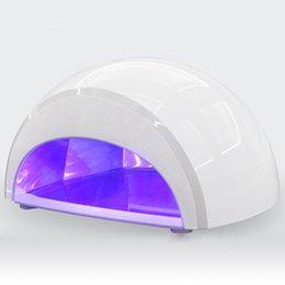 Wholesale Professional Manicure V W LED UV Gel Lamp Light Nail Dryer Nail Art EU Plug Nail tools New Arrival