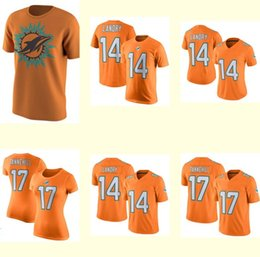 NFL Jersey's Men's Miami Dolphins Cameron Wake Nike Orange Color Rush Legend Jersey